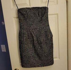 EXPRESS Tweed Strapless Dress NWT